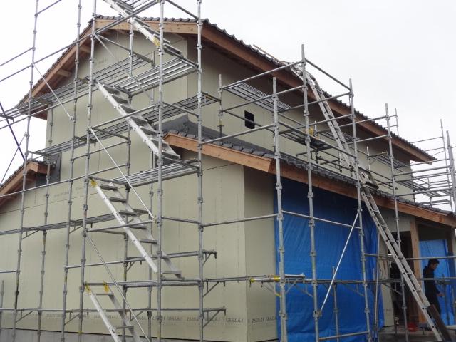 耐力壁:木軸面材パネル工法 制震ダンパー採用