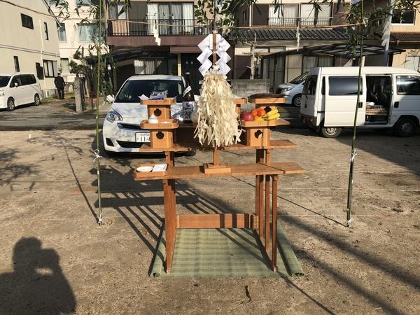 佐賀市地鎮祭