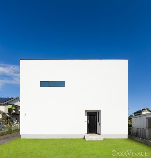 自然素材の高断熱のデザイン住宅。casavivace